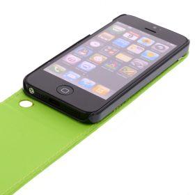 Калъф за телефон iPhone 5 Green (Nr:30)