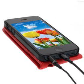Калъф за телефон iPhone 5 - Червен