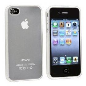 Silicon Case/Bumper for iPhone 4/4S White