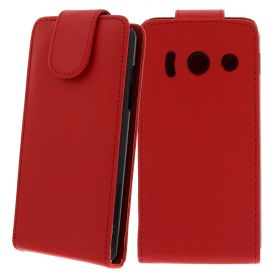 FLIP калъф за Huawei Ascend Y300 Red (Nr 7)
