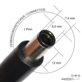 Зарядно за лаптоп за HP Compaq 18,5V 3,5A 5 7,4mm