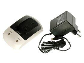 Зарядно за фотоапарат Sony NP-F330, NP-F950, NP-FM50, NP-QM50, NP-QM51, NP-FM70,  NP-QM70, NP-QM71, NP-FM90, NP-QM91