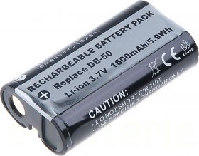 Батерия за фотоапарат Ricoh DB-50, KLIC-8000, 1600 mAh