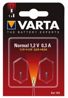 Крушка за фенер Varta V701 Argon 2,4V