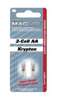 Резервни крушки за мини фенер Maglite - 2 батерии АА
