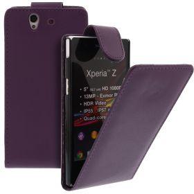 FLIP калъф за Sony Xperia Z Purple