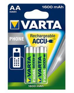 Varta T399 Phone AA 1600mAh BL2