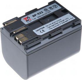 Батерия за видеокамера Canon BP-522, brown, 3000 mAh