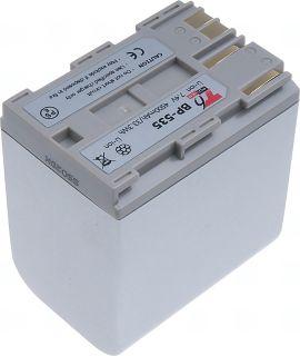 Батерия за видеокамера Canon BP-535, Сребриста, 4500 mAh