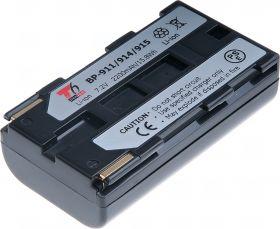 Батерия за видеокамера Canon BP-911, BP-914, BP-915,  Черна, 2200 mAh