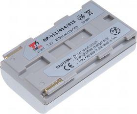 Батерия за видеокамера Canon BP-911, BP-914, BP-915, Сребриста, 2200 mAh