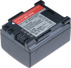 Батерия за видеокамера Canon BP-808, 860 mAh