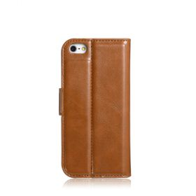 Blumax PU Wallet Bookstyle Case iPhone 5 Brown