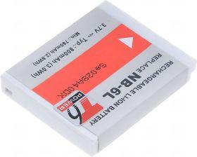 Батерия за фотоапарат Canon NB-6L, 800 mAh