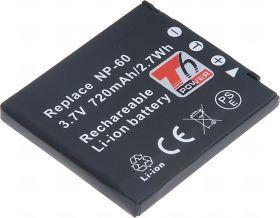 Батерия за фотоапарат Casio NP-60, 720 mAh