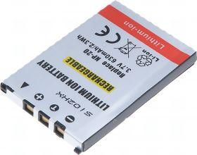 Батерия за фотоапарат Casio NP-20, NP-20DBA, 630 mAh