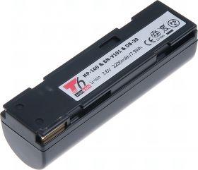 Батерия за фотоапарат Fuji NP-100, BN-V101, 2200 mAh