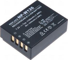 Батерия за фотоапарат Fuji NP-W126, 1100  mAh