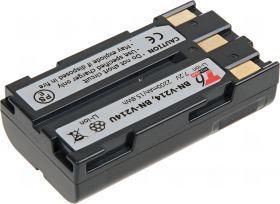 Батерия за видеокамера JVC BN-V214, BN-V214U, Сива, 2200 mAh