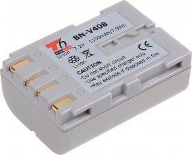 Батерия за видеокамера JVC BN-V408, Цвят - шампанско, 1100 mAh