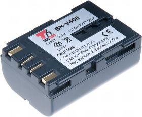 Батерия за видеокамера JVC BN-V408, Сива, 1100 mAh