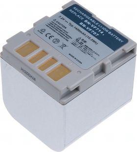 Батерия за видеокамера JVC BN-VF707, BN-VF707U, BN-VF707US, BN-VF707UE, BN-VF714, BN-VF714U, BN-VF714US, BN-VF714UE, 1400 mAh