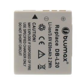 Blumax батерия за Sanyo DB-L20 620mAh