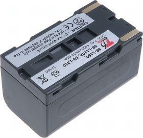 Батерия за видеокамера Samsung SB-L160, SB-L110A, SB-L320, Сива, 4400 mAh