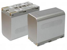 Батерия за видеокамера Samsung SB-L160, SB-L110A, SB-L320, SB-L480, Сива, 6600 mAh