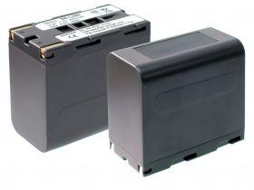 Батерия за видеокамера Samsung SB-L160, SB-L110A, SB-L320, SB-L480, Сребриста, 6600 mAh