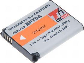 Батерия за фотоапарат Samsung BP-70A 620 mAh