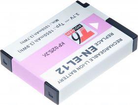 Батерия за фотоапарат Nikon EN-EL12, 1050 mAh
