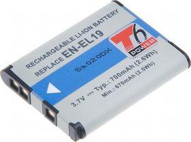 Батерия за фотоапарат Nikon EN-EL19, 700 mAh