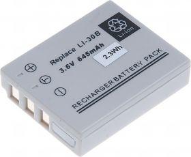 Батерия за фотоапарат Olympus Li-30B, 645 mAh