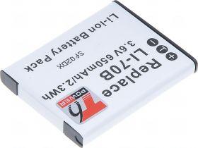 Батерия за фотоапарат Olympus Li-70B, 650 mAh