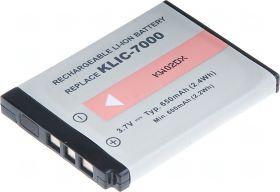 Батерия за фотоапарат Kodak KLIC-7000, 650 mAh