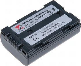 Батерия за видеокамера Panasonic CGR-D08, CGR-D08A/1B, CGR-D08S, CGR-D08R, CGR-D08SE/1B, CGR-D120, CGR-D120A/1B, 1100 mAh