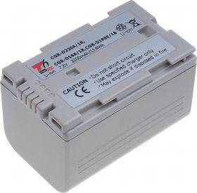 Батерия за видеокамера Panasonic CGR-D220A/1B, CGR-D16A/1B, CGR-D08, CGR-D120, CGR-D210, CGR-D320, CGR-D28S, CGP-D28S, Цвят - шампанско, 2200 mAh