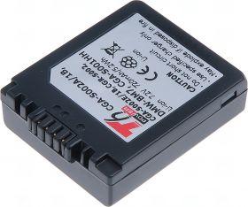 Батерия за фотоапарат Panasonic DMW-BM7, CGA-S002E, CGA-S001HH, CGA-S002, 720 mAh