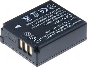 Батерия за фотоапарат Panasonic DMW-BCD10, CGA-S007, CGR-S007E, CGR-S007E/1B, 1000 mAh