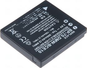 Батерия за фотоапарат Panasonic DB-70, CGA-S008, DMW-BCE10, CGA-S008E, CGA-S008A, CGA-S008A/1B, CGR-S008, 800 mAh