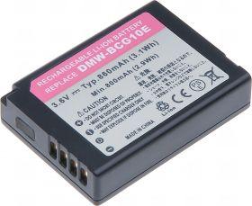 Батерия за фотоапарат Panasonic DMW-BCG10, DMW-BCG10E, 860 mAh