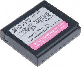 Батерия за фотоапарат Panasonic DMW-BC13, DMW-BC13E, DMW-BCJ13, DMW-BCJ13E, 1100 mAh