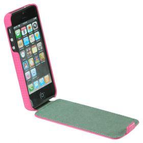 Slim FLIP калъф за iPhone 5 Pink