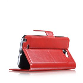 Blumax PU Wallet Bookstyle Case Samsung Galaxy Note 2 N7100 Red