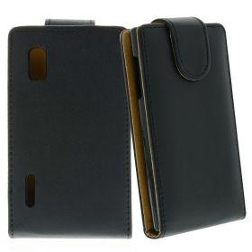 FLIP калъф за LG E610 Optimus L5 Black