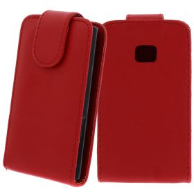 FLIP калъф за LG E400 Optimus L3 Red (Nr 7)