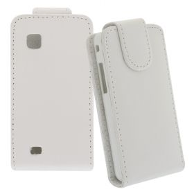 FLIP калъф за Samsung S5260 Star2 White