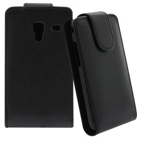 FLIP калъф за Samsung Galaxy Ace Plus GT-S7500 Black