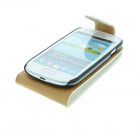FLIP калъф за Samsung Galaxy S3 mini GT-i8190 White (Nr 15)